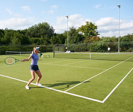 David Lloyd Clubs outdoor tennis